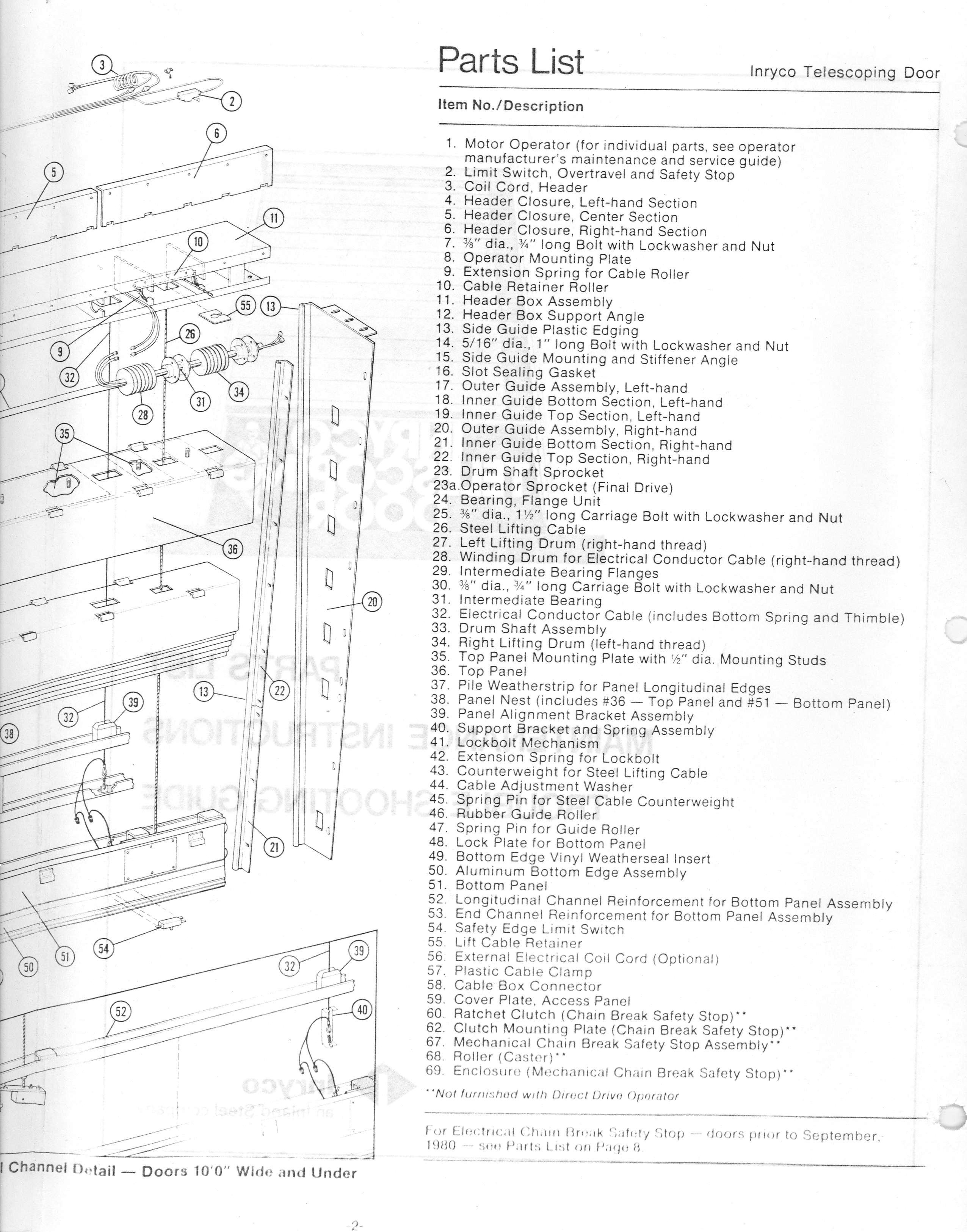 Inryco Telescoping Door Wiring Diagram For Circuit Symbols Ops Diagrams Index Of Telescope Operations Manual Manuals Volume 1 Rh Loen Ucolick Org Access Control Card Reader Schematic